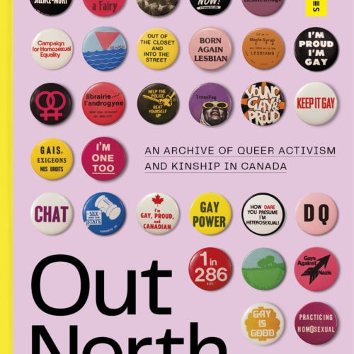 "Front cover of ""Out North"" book"